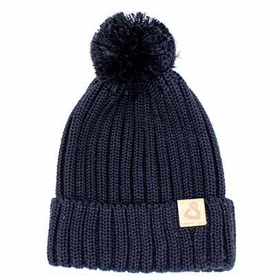 Wollmütze Cusco Uni Schwarz