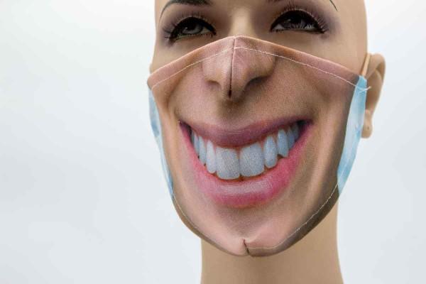 Gesichtsmaske - Face Pad Mund 2 Mund- Nasen. Behelfsmaske