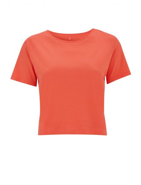 T-Shirt Ladies Cropped Jersey Fairtrade