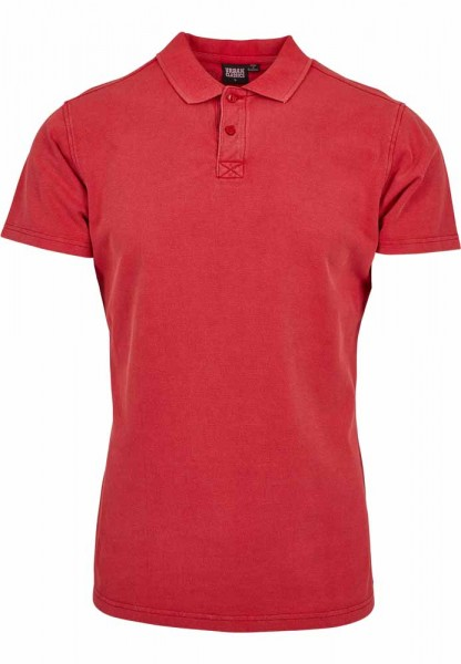 Poloshirt Garment Dye Pique