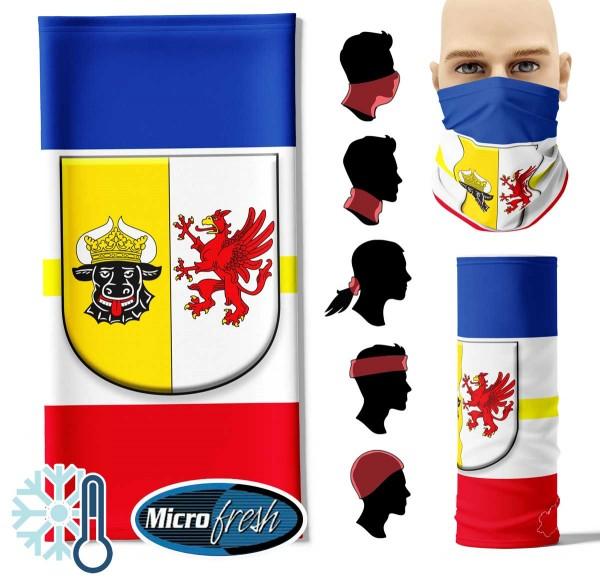 """Multifunktionstuch """"Mecklenburg-Vorpommern Flag"""" Face Pad++"""