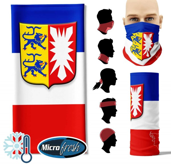 "Multifunktionstuch ""Schleswig-Holstein Flag"" Face Pad++"