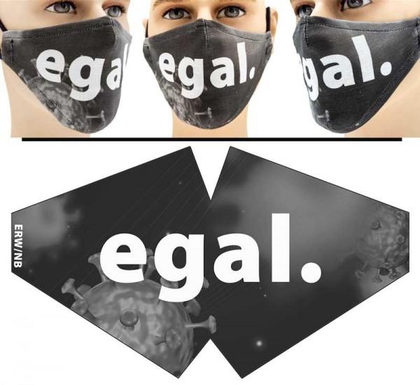 egal - Face Pad Premium - Mund Nasen Behelfsmaske