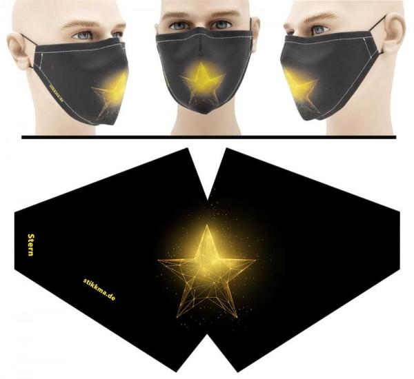 Stern - Face Pad Premium - Mund Nasen Behelfsmaske