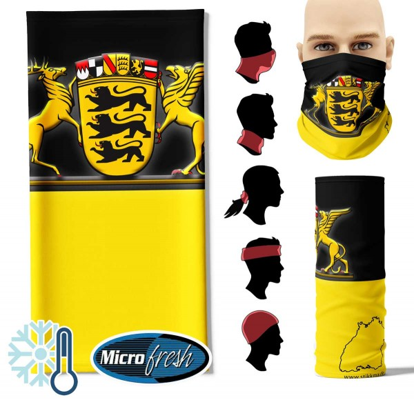 "Multifunktionstuch ""Baden-Württemberg Flag"" Face Pad++"