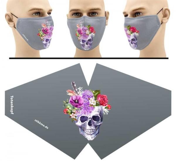 Totenkopf - Face Pad Premium - Mund Nasen Behelfsmaske