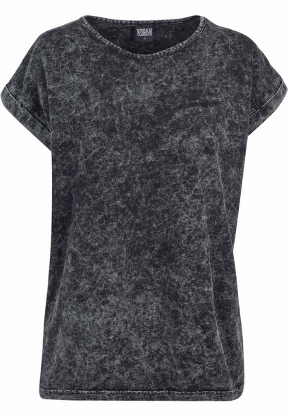 Ladies Random Wash Extended Shoulder Tee