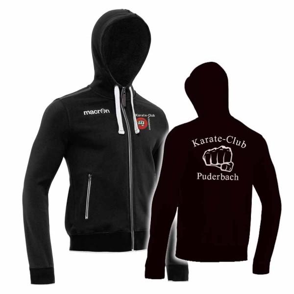 Motown Sweatshirt-Jacke für Herren   Karate Club Puderbach   Vereine ... 04aea1a708
