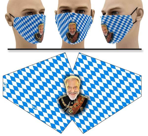 König Söder - Face Pad - Mund Nasen Behelfsmaske