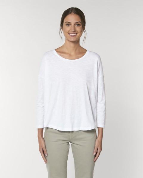 T-Shirt Bio 3/4 ärmel Stella Waver Slub