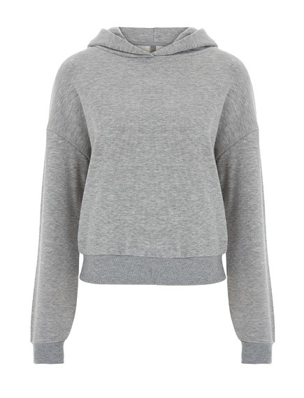 Hoody/Kapuzenpulli Ladies Cropped Fairtrade