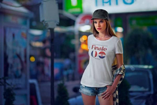 """T-Shirt WM 2018 Kroatien """"Der Weg zum Finale"""""""