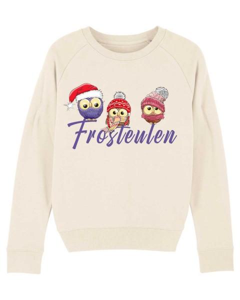 Damen Bio Sweatshirt Frosteulen