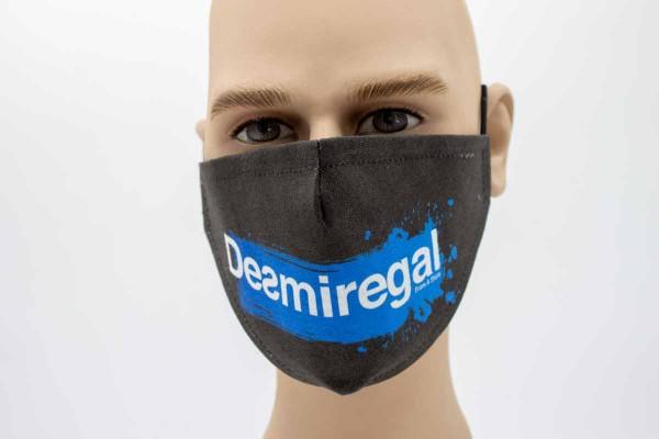 Desmiregal blau - Face Pad Premium - Mund- Nasen. Behelfsmaske