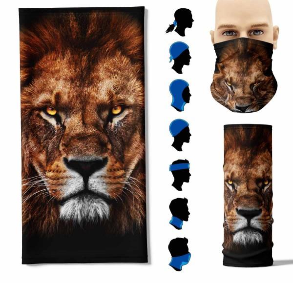 Multifunktionstuch Löwe Kopf Face Pad+