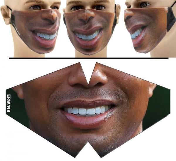 TigerW - Face Pad Premium - Mund Nasen Behelfsmaske