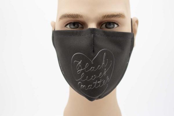 Gesichtsmaske Face Pad Black Lives Matter Mund- Nasen- Behelfsmaske