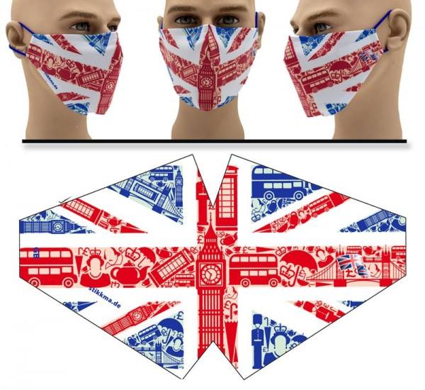 Great Britain - Face Pad Premium - Mund Nasen Behelfsmaske
