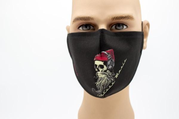 Gesichtsmaske Face Pad Forever Music Mund- Nasen. Behelfsmaske