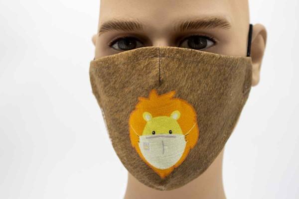 Löwe Kids - Face Pad Premium - Mund- Nasen. Behelfsmaske