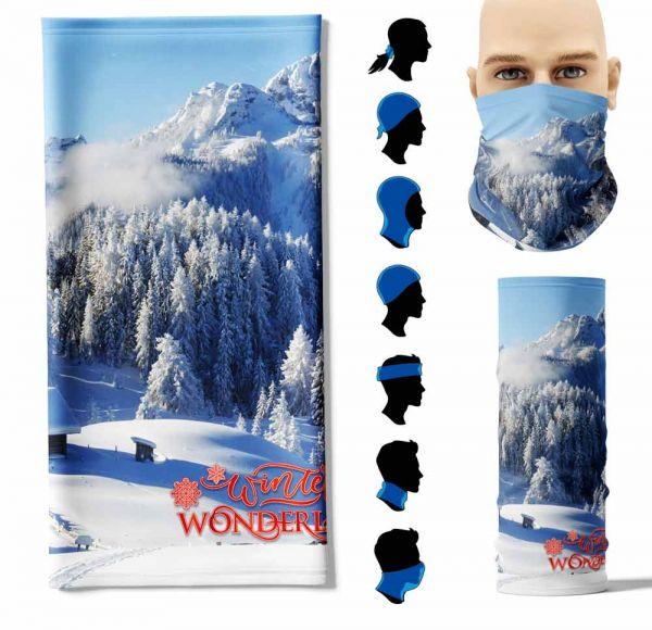 "Multifunktionstuch ""Winter Wonderland 2"" Face Pad"