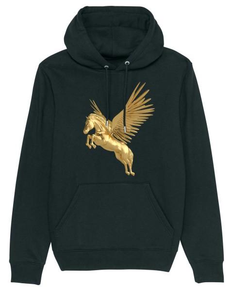 Bio Hoodie Golden Unicorn