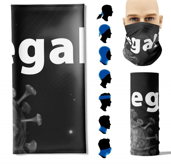 Multifunktionstuch + egal. Face Pad