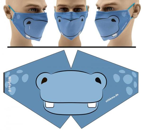 Hippo - Face Pad Premium - Mund Nasen Behelfsmaske