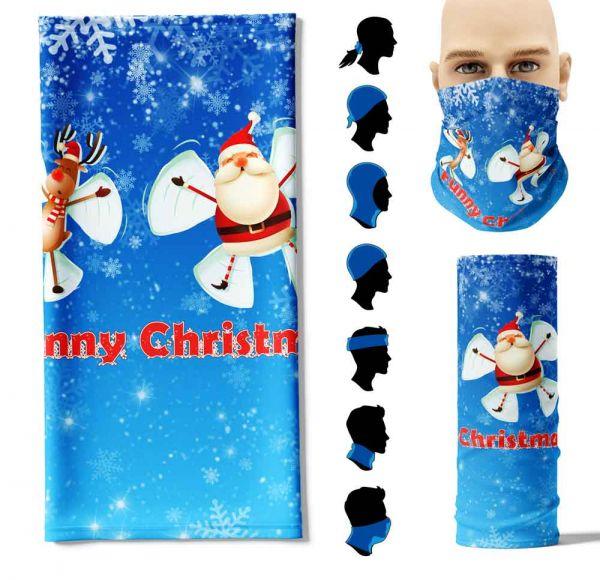 "Multifunktionstuch ""Funny Weihnachten"" Face Pad+"