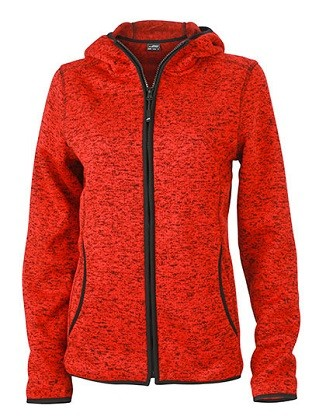 Hoody/Kapuzenpulli Ladies Knitted Fleece
